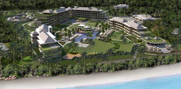 Seychelles Savoy_Resort_Spa_Aerial view