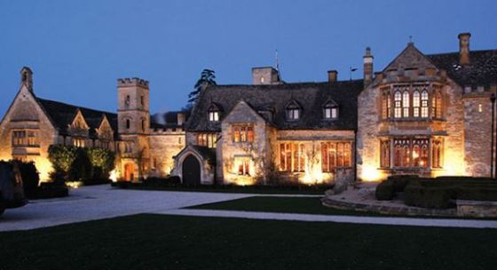 UK England Ellenborough Park a five-star 16th century country manor house hotel in the Cotswolds royalwedding